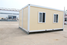 demountable designed hospital prefab exibition room store container cabin beach house