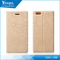 Veaqee custom made mobile phone wallet pu leather case for iphone6