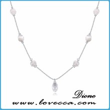 2015 Top Design Austrian Crystal Alloy Necklace Designs Women,Fashion Simple Glitter Crystal Alloy Necklace