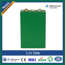 Ready-to-ship 3.2v 50Ah rechargeable Lithium ion battery for electric car