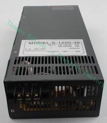 1200W 36V Switching power supply for LED Strip light AC to DC power suply input 110v 220v 1200w ac to dc power supply