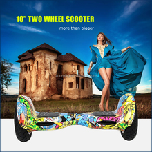 New Coming 10inch Big Tyre Self Balancing Scooter 2 Wheels with Bags Smart Drifting Scooter Hitting Market!!!