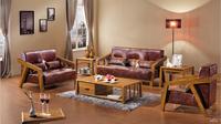living room furniture leather sofa sofa leather solid wood furniture