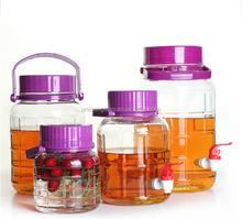 Airtight wine enzyme bottle/glass jar dispenser