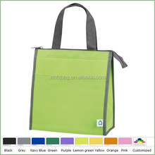 Promotion simple non woven aluminium foil cooler bag