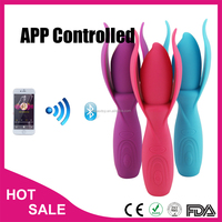 2015 new products dildo g-spot vibrator for women wireless bluetooth vibrator for mobile sex