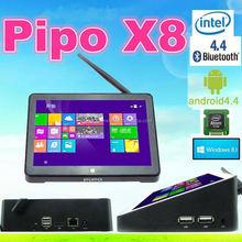 7 inch Screen Intel Atom Z3736F X86 Quad Core Mini PC 2GB RAM 32GB 64GB ROM Android Win8 Dual OS Set Top Box PIPO X8