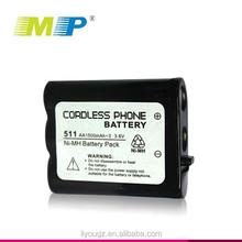 Sell well 511 AA 1500mAh 3.6V battery rechargeable