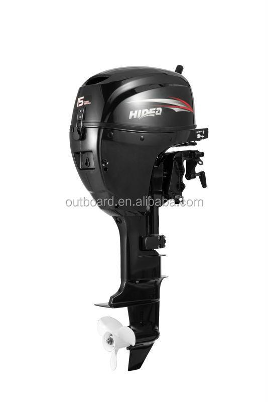 Hidea 4stroke 15hp outboard engine electric start model for 15 hp electric boat motor
