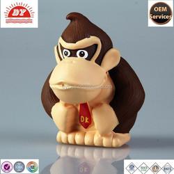 Soft plastic animal figurnie toys