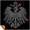 Ancient Phoenix Iron On Motif Rhinestone