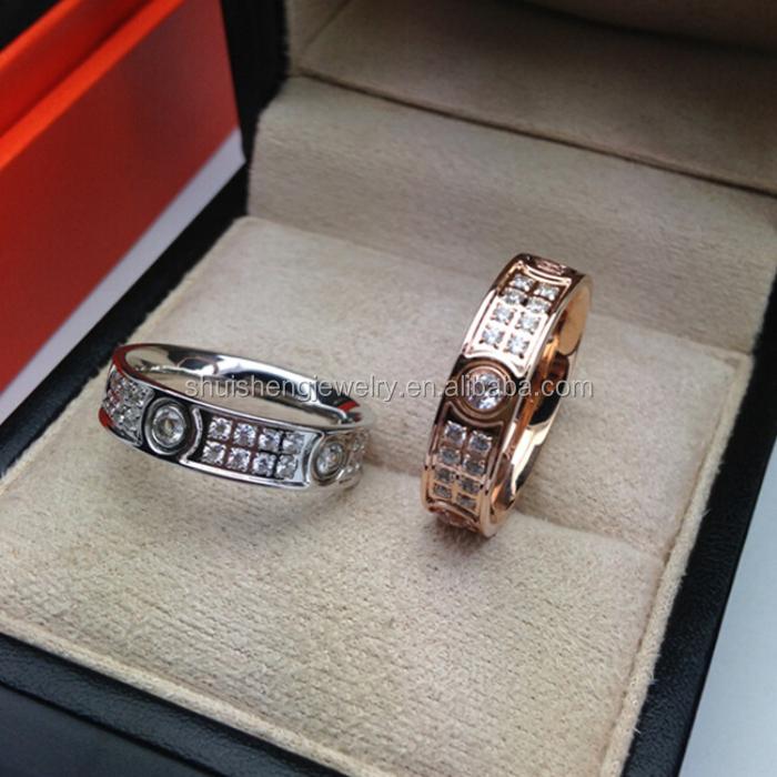 Nep Diamanten Ring 18k Nep Diamanten Ring