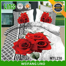 3d printed cotton quilt from korea/dubai home textile importers bed sheet
