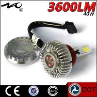 factory price canbus 40w 3600 lumens brightness led headlight bulb car accessory tuning
