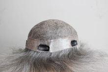 Elegant-wig cheap toupee for black women, mens custom toupee gray hair factory price