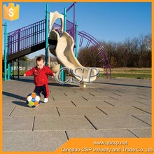 China Top Quality Outdoor Flooring / Rubber Flooring For Public
