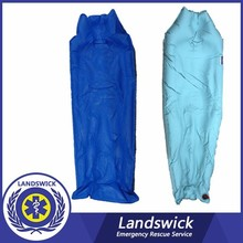 Emergency medical equipment&aluminum alloy 2 folding stretcher,surgical stretcher