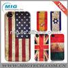 Hot selling internation flag hard case for iphone 5, for iphone cover for iphone 5S