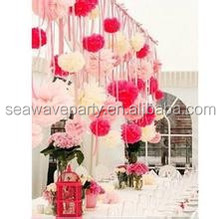 wholesale Tissue Paper Pom Poms paper art Party Supplies