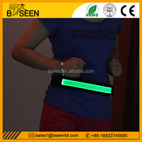 2015 most popular led rechargeable elastic wide waistband