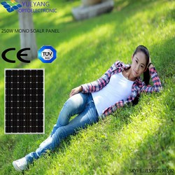 monocrystalline silicon solar panel with TUV CE/monocrystalline silicon solar pv panels