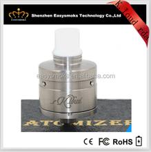 Easysmoks new design e cigs k.loud rda atomizers,1:1 clone k.loud atomizer