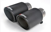classical 114diagonal inlet57mm-outlet114mm for ak AKRAPOVIC carbon fiber exhaust tip exhaust pipe muffler
