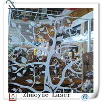 decorative metal tree /laser cutting service