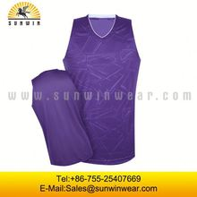 All over sublimation printed basketball jersey