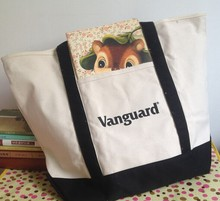 oem reusable cotton canvas tote lunch bags