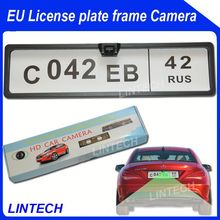 2014 Europe Cars Number plate rear view camera for renault megane