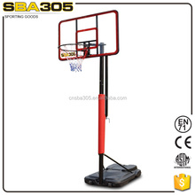 good quality adjustable basketball stand outdoor