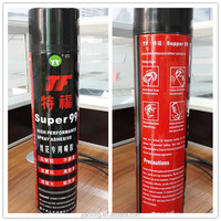 Good quality supper 99 embroidery adhesive spray glue