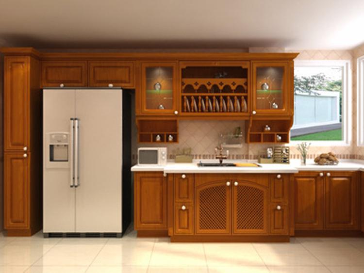 Professioneel ontwerp massief houten keuken kast keuken te koop ...