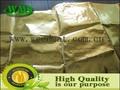 de oro de aluminio papel de tejido de revestimiento de fibra de vidrio tela de aluminio para la construcción de material