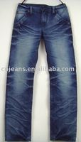 handling inventory men's cheap mix style stock jeans