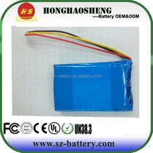 High quality rechargeable 603048 800mAh 2S 7.4v lipo battery pack for tablet pc electonic mouse and bluetooth speaker