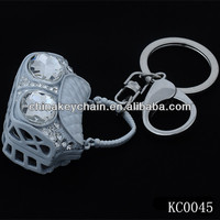 Bag Key Chain Metal Key Chian Crystal Key Ring