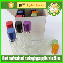 30ml glass roll on bottle with plastic cap