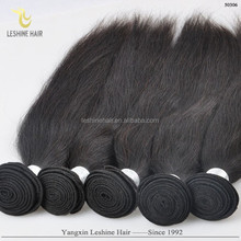 Hot New Products For 2015 Unprocessed brazilian virgin hair fix hair human hair extension