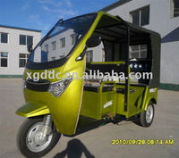 Electric motor tricycle for passenger