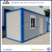 China suppier container living prefabricated houses for Asia and Africa