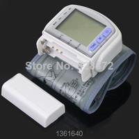 монитор артериального давления дома автоматический цифровой руку 1шт высочайшего качества с ЖК-дисплеем & сердце бить метр устройство, jk1