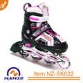 Niños calzado deportivo ajustable en línea del patín de ruedas al por mayor de calzado