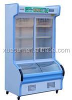 DC-1400 Copper tube Resturant Order Dishes Showcase Freezer & Cooler / vegetable cooler / Ala carte counter Freezer