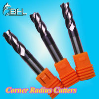 BFL-Solid Carbide Bull Nose Cutter For CNC Machine/Metal Milling Tool Sets For Processing