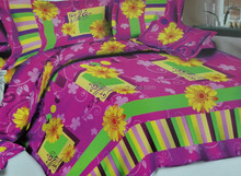 China Textile Luxury Modern Bedroom Sets with Duvet Cover BedSheet and Pillowcase bedding set