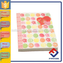 china manufacturer customized design school and office hardcover notebook cover
