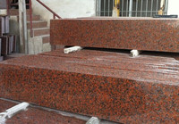 Cheap Maple red !! red granite for paving/countertop!!
