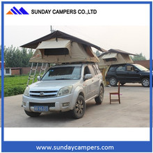 2014 hot sale Single layers Car Camping Roof Tent,camping tent off road with car side awning